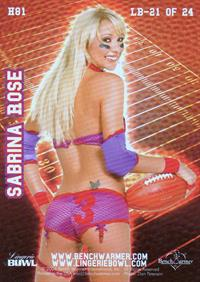 Sabrina Rose in lingerie - ass