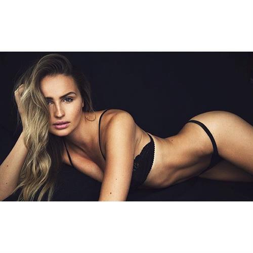 Mackenzie White in lingerie