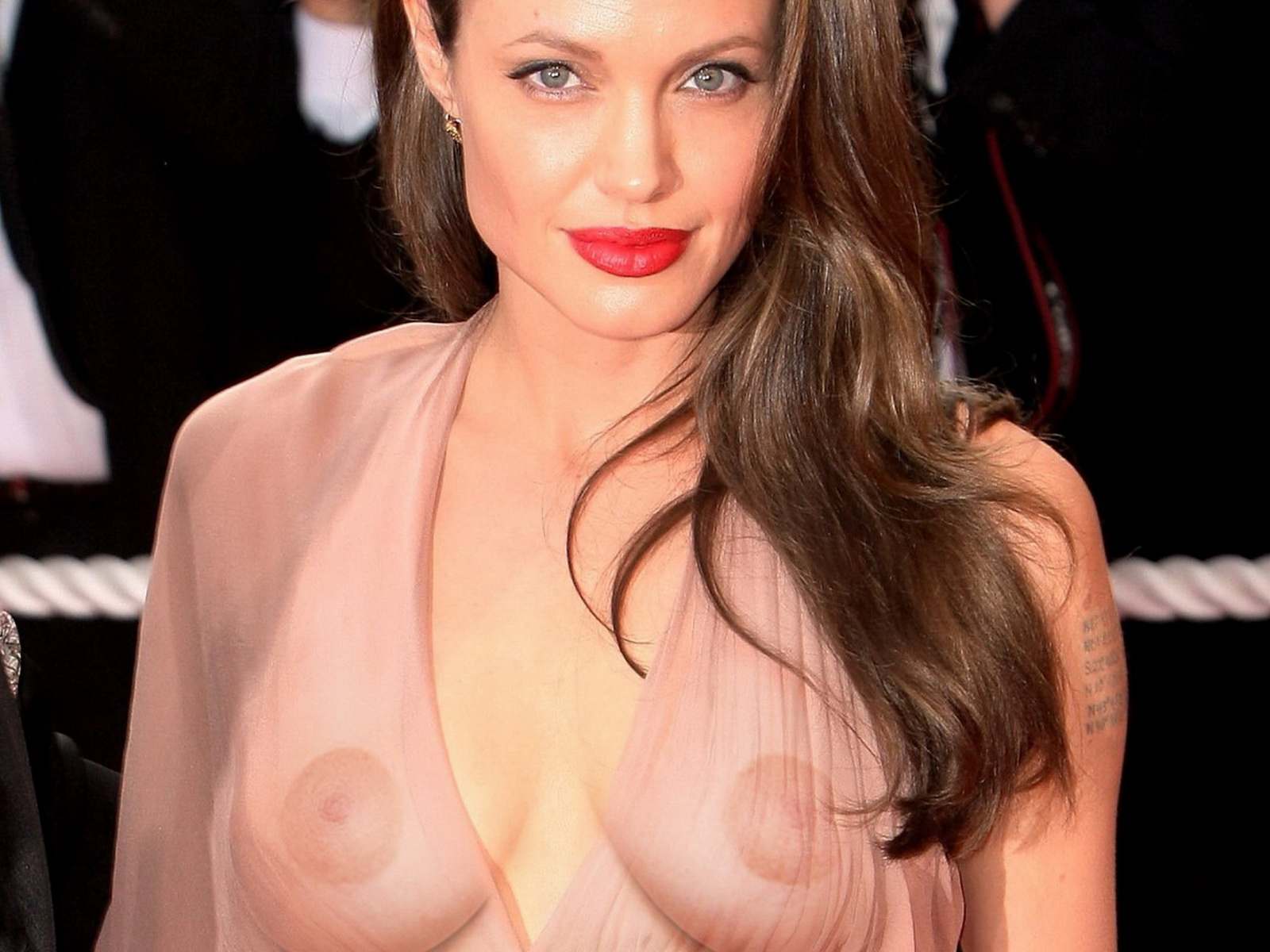 Angelina Jolie - breasts