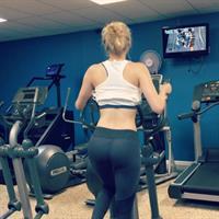 Anna Faith in Yoga Pants - ass