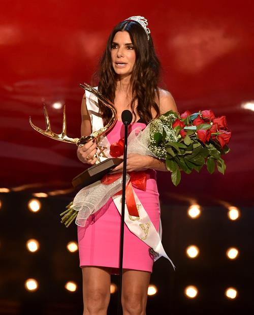 Sandra Bullock at Spike TVs Guys Choice 2014 June 7, 2014