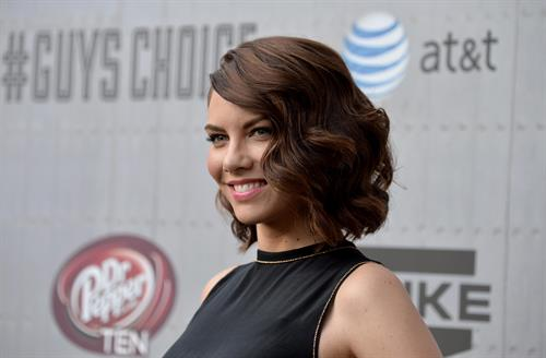 Lauren Cohan at Spike TVs Guys Choice 2014 June 7, 2014