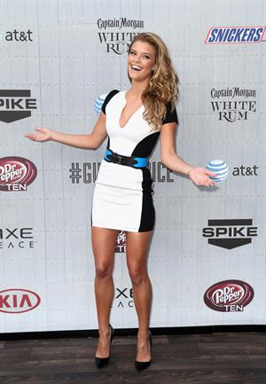 Nina Agdal at Spike TVs Guys Choice 2014 June 7, 2014