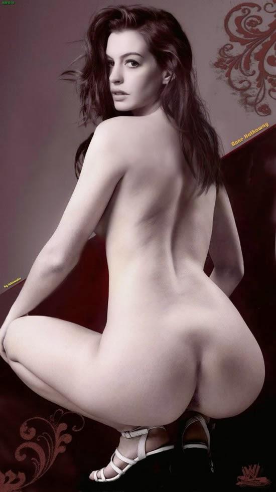 Anne Hathaway - ass