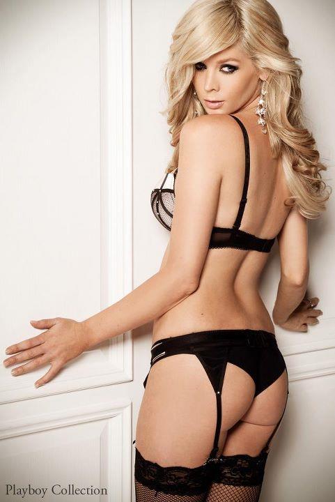 Sheridyn Fisher in lingerie - ass