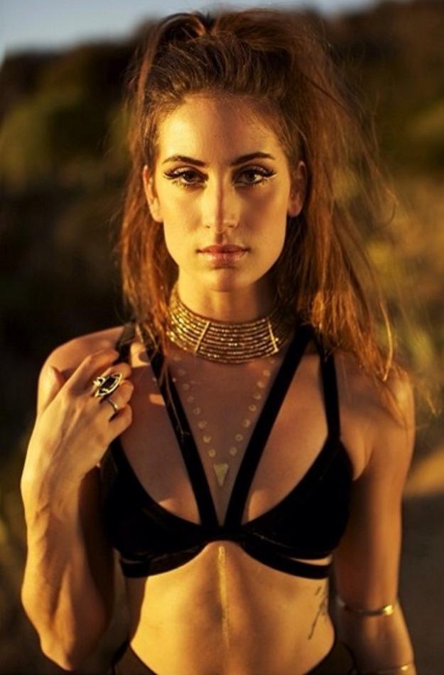 Kaylee Ricciardi in a bikini