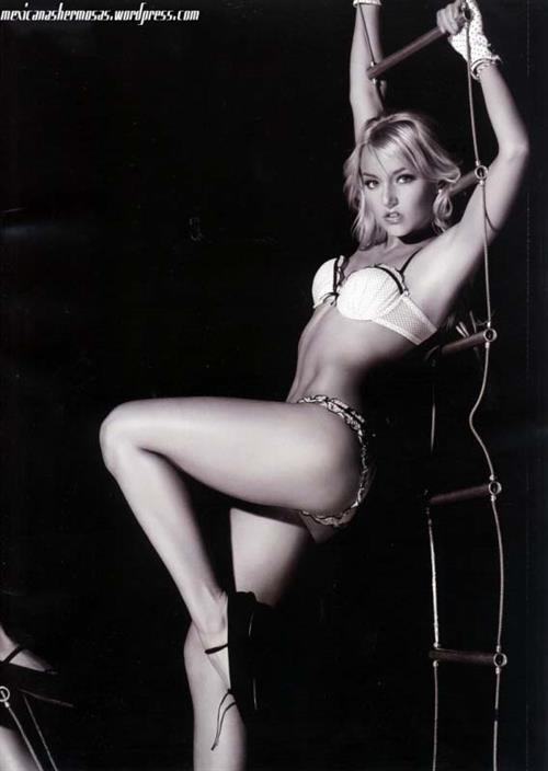 Angelique Boyer in lingerie