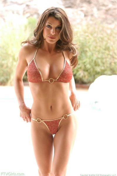 Isabella Camille in a bikini