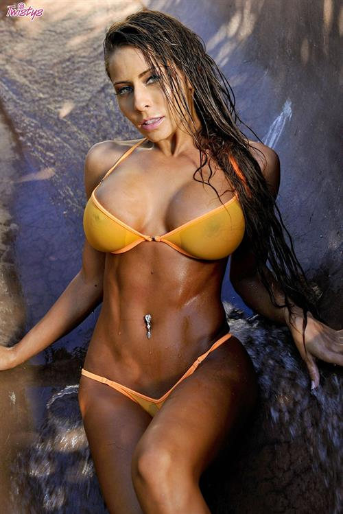 Madison Ivy in a bikini
