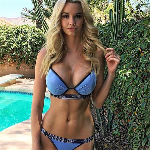Caitlin Arnett in a bikini