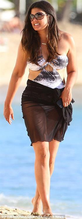 Rachael Roy in a bikini
