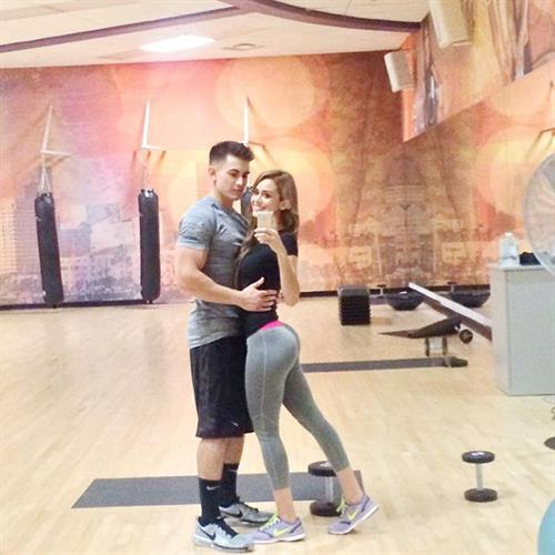Yanet Garcia taking a selfie and - ass