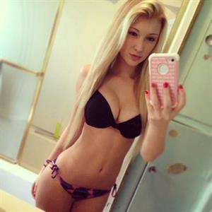 Anna Faith Carlson in lingerie