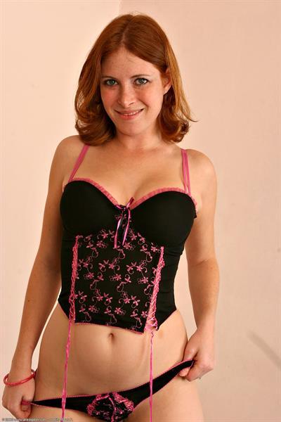 Ginger Blaze in lingerie