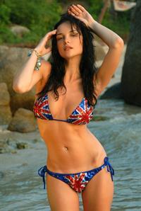 Evgeniya Diordiychuk in a bikini