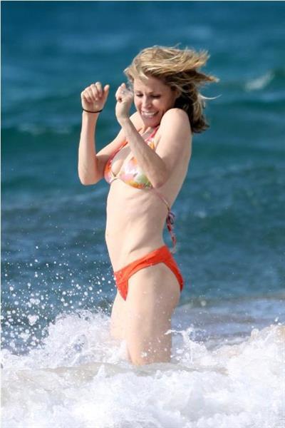 Julie Bowen in a bikini