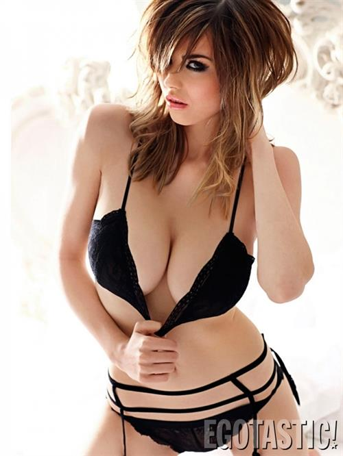 Danielle Sharp in a bikini