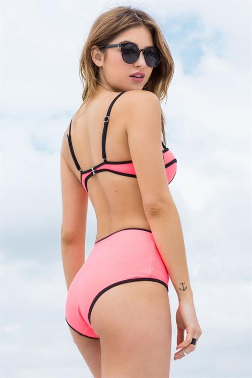 Jehane Paris in a bikini - ass