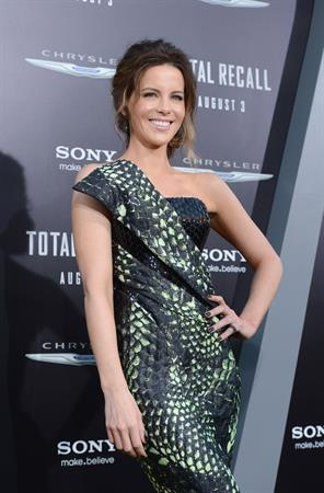 Kate Beckinsale Premiere of Columbia Pictures' 'Total Recall' at Grauman's Chinese Theatre in Hollywood August 1-20