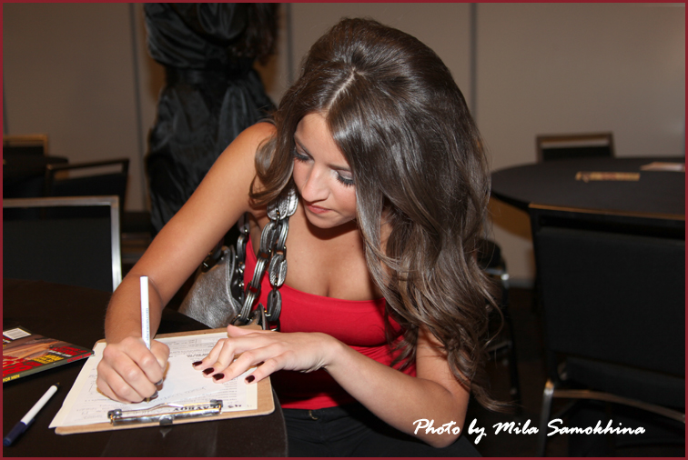 Jessica Workman at Playboy's 2011 Casting Call in Chicago
