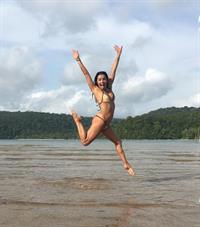 Eva Longoria in a bikini