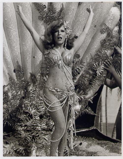 Bette Midler in a bikini