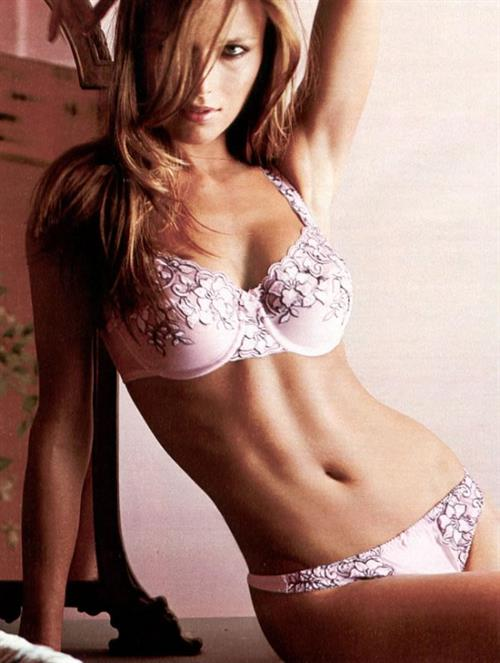 Veronika Vařeková in lingerie