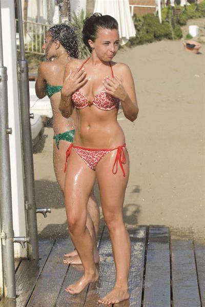 Louisa Lytton in a bikini
