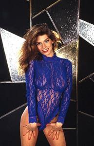 Nikki Dial in lingerie - breasts