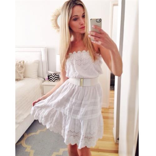 Katrina Bowden taking a selfie