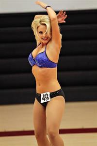 Jennifer O'Bryon in lingerie