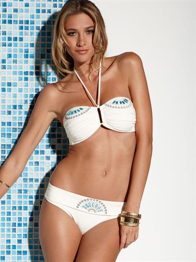 Maggi Caruthers in a bikini
