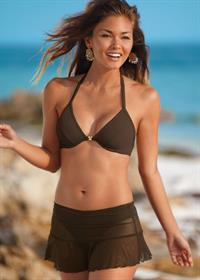 Karen Carreno in a bikini