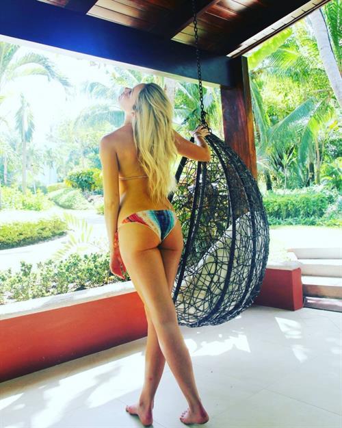 Katrina Bowden in a bikini - ass