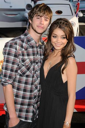 Sarah Hyland at the LA premiere of Cars 2