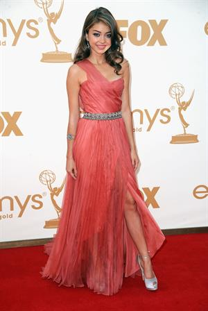 Sarah Hyland at the Emmys