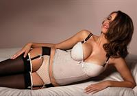 Lucy Bayet in lingerie