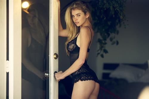 Kayslee Don Collins in lingerie - ass