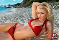 Alena Savostikova in a bikini