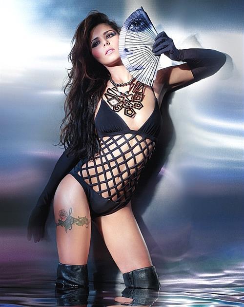 Cheryl Fernandez-Versini in a bikini
