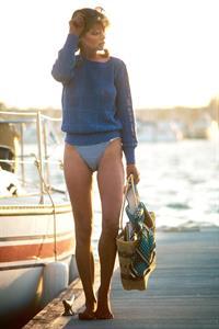 Karen Witter in a bikini