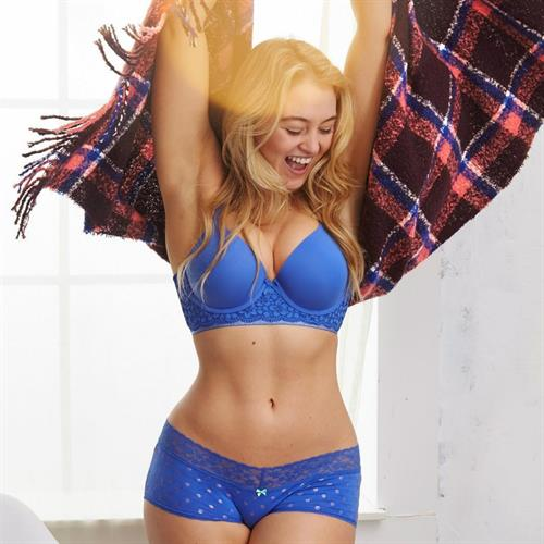 Iskra Lawrence in lingerie