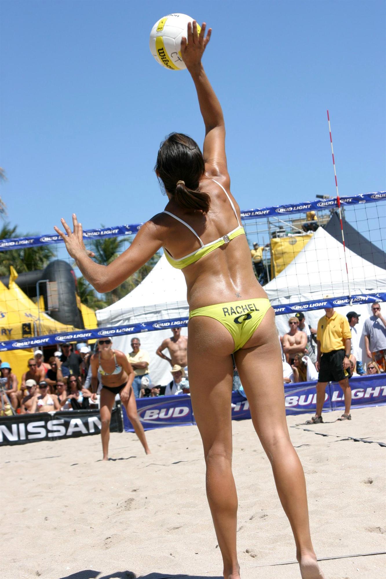 Rachel Wacholder in a bikini