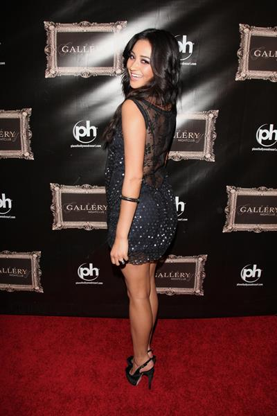 Shay Mitchell at Grand Opening Of Gallery Nightclub in Las Vegas 2011