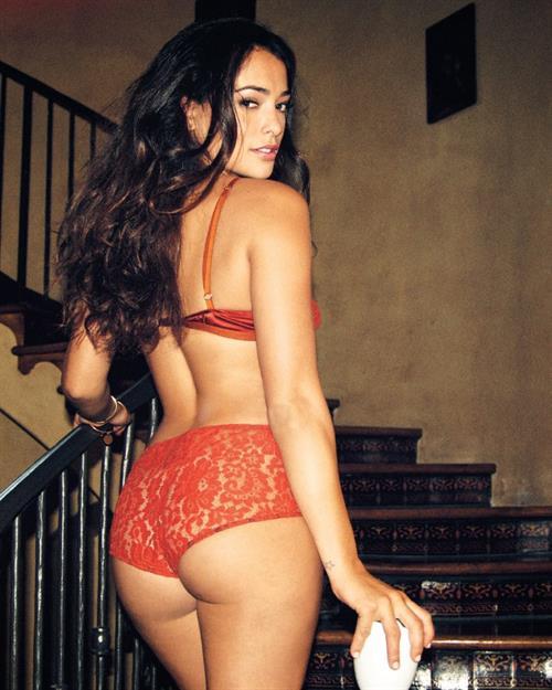 Sarah Shahi in lingerie - ass
