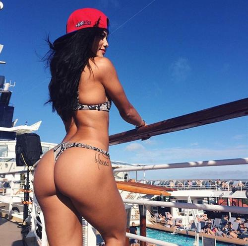 Katya Elise Henry in a bikini - ass