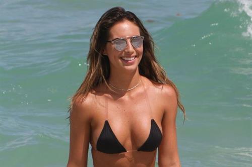 Brittny Ward in a bikini