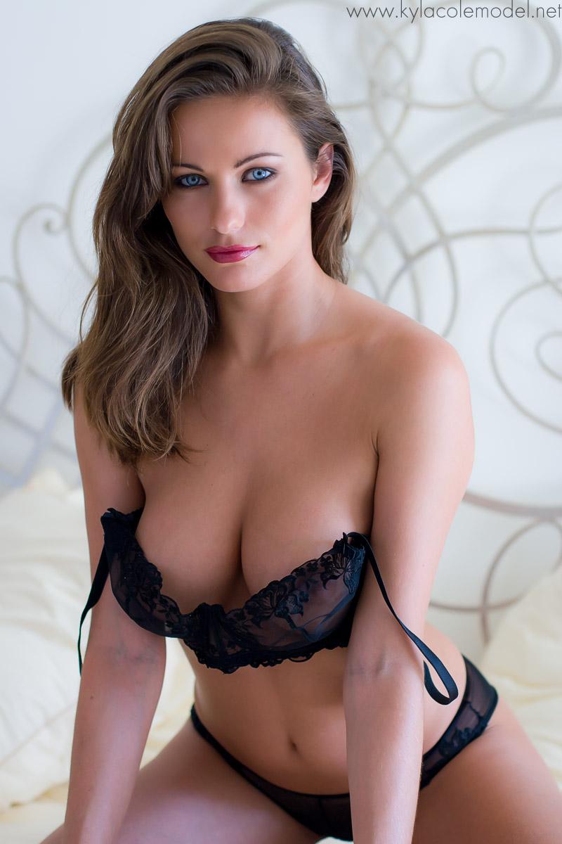 Kyla Cole in lingerie
