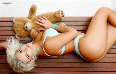 Laura Keller in a bikini