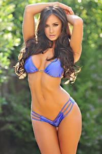 Rosie Roff in a bikini